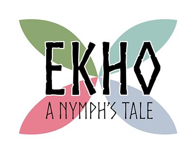 Ekho: A Nymph's Tale (Logo & Menus)