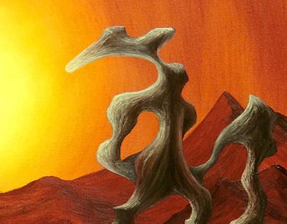 Eternal Sunset Oil on Canvas