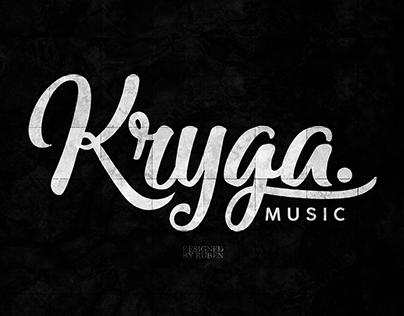 Kryga Music Font Logo