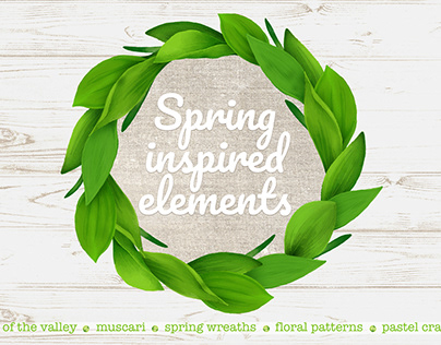Spring inspired elements
