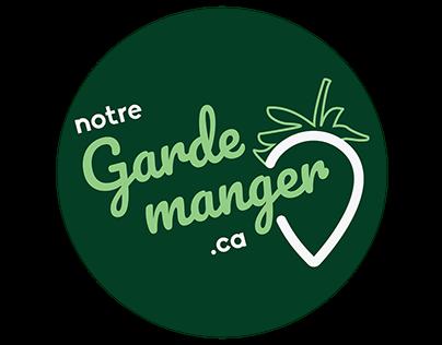 Logo : Notre garde-manger