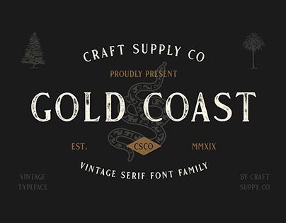 FREE | Gold Coast Vintage Serif Font