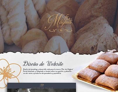 Diseño Website Flordemagina.com