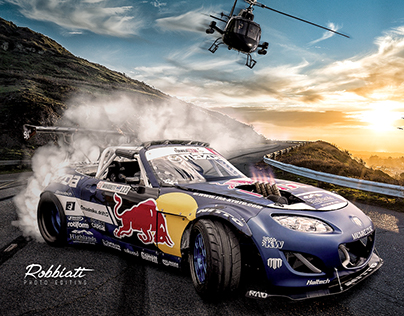 Red Bull - Mad Mike Road Drifting