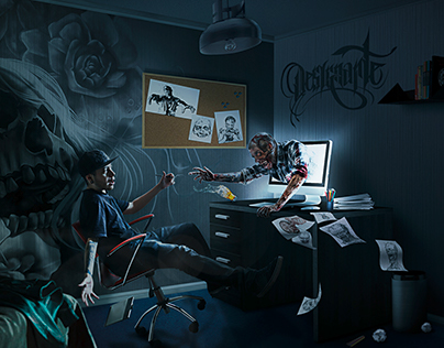 The Room - Retoque Digital