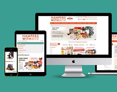 Hampers With Bite — Website refresh