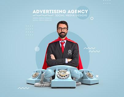 """Social media designs """"advertising"""" - 2021"""