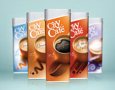 City Cafe | Repackaging