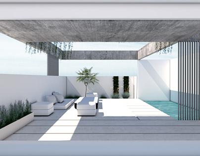 Rooftop garden//