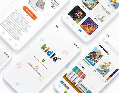 Kidle - Kindle Redesign