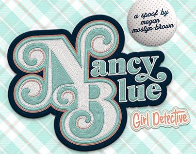 Nancy Blue: Girl Detective Poster