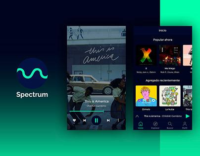 Spectrum Music App.