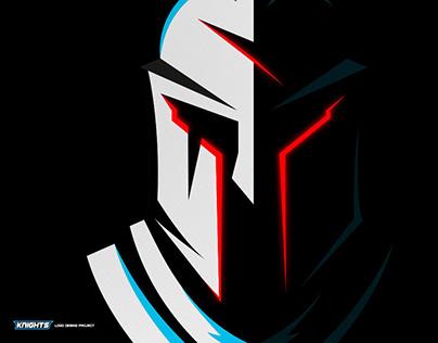 Esport & Mascot Logo Design - Knight Team