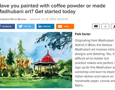 Editorial Illustration - Cubbon Park, Bangalore