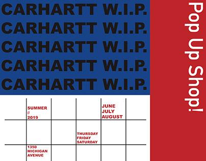 Carhartt W.I.P. PopUp Shop Summer 2019