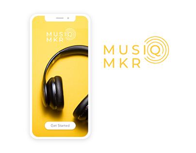 Music Maker | App Design