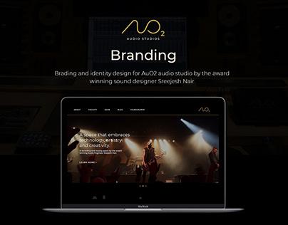 AuO2 Audio Studios - Branding and Identity