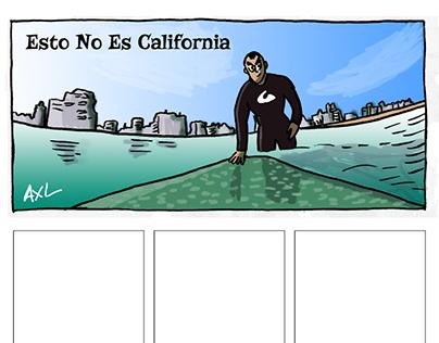 Esto no es California - El Cómic