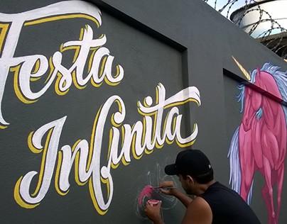 Mural Festa Infinita
