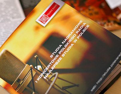 Polskie Radio - Recording Studios - booklet / brochure