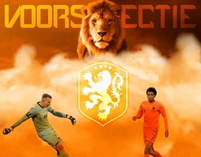 OnsOranje Voorselectie Post AZ Alkmaar Players