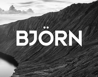 Bjorn - Free Typeface