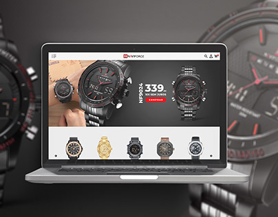 Home Completa para Ecommerce - Banners - Naviforce BR
