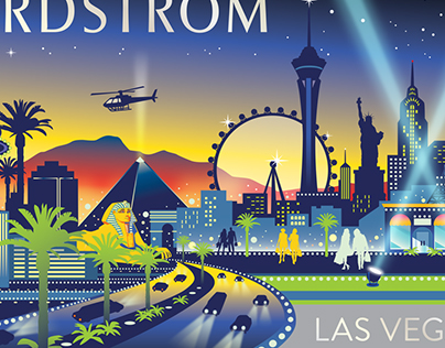 Nordstrom City Collection Gift Card Artwork