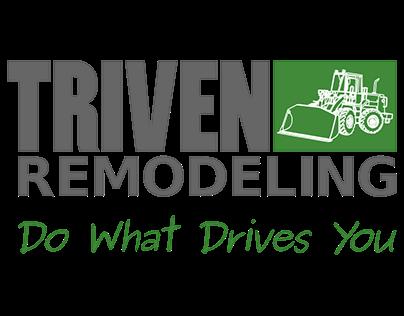 Logo Design For Triven Remodeling