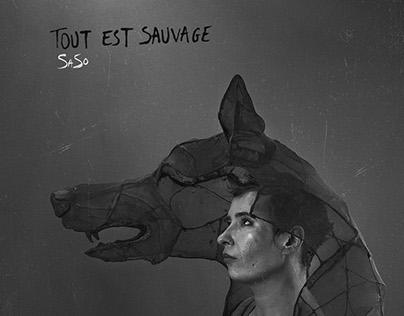 Pochette d'album de SaSo - Tout est sauvage