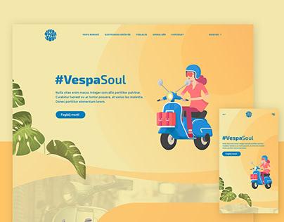 VespaSoul webdesign