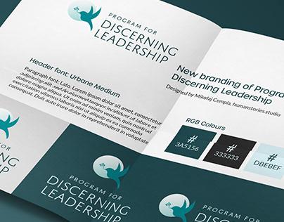 Discerning Leadership 2020 [BRANDING + UI/UX]