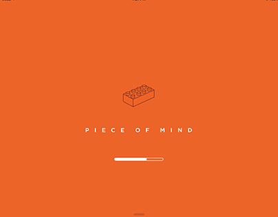 Piece Of Mind - App Concept for Piece Of Mind Book