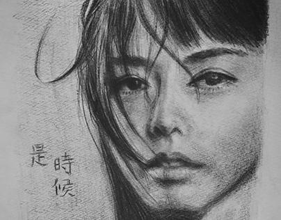Portrait drawing/燕姿(Stefanie Sun)