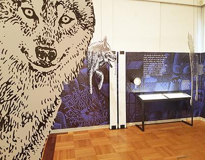 "Exhibition ""Under Wolves - Käthe Recheis"""