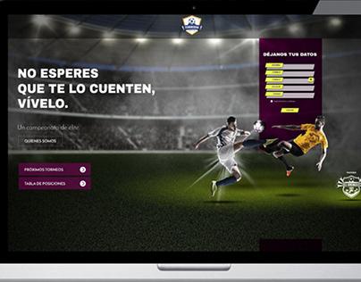 Landing Page - Los Torneos