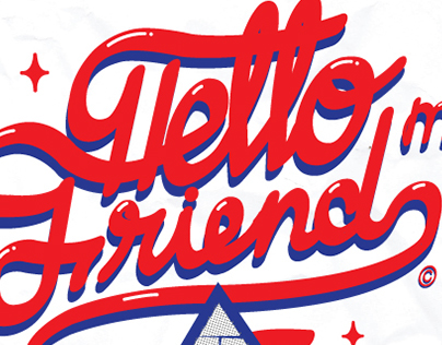 "Artwork ""Hello my friend"""