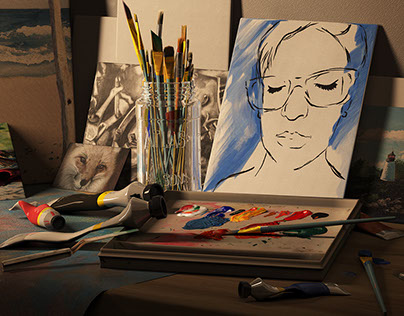 """""""The Artist"""" Still image"""