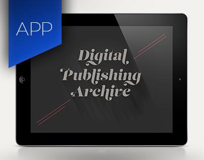 Digital Publishing Archive