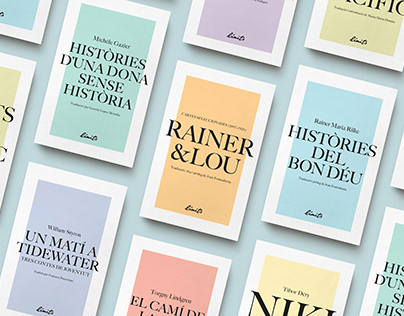 Editorial Límits cover collection