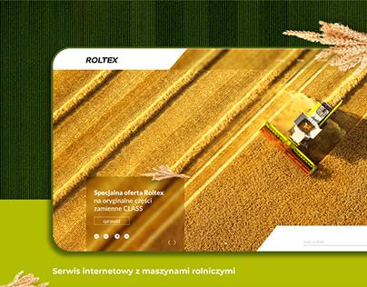 Roltex - serwis internetowy z maszynami rolniczymi