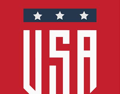 Usa Badge Copy