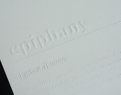 Emboss Paper - Epiphany