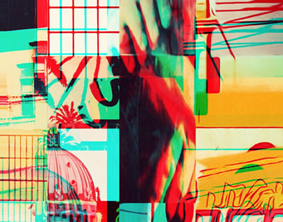 Midtown // Analog Collage Fragments