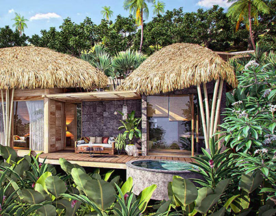 RESORT IN MALAYSIA - 3D RENDER PROJECT