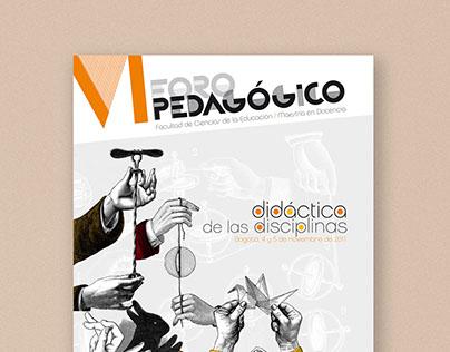 Poster Foro Pedagógico
