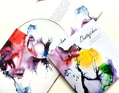 """Music CD """"Pretējības"""" Cover"""