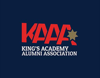 Rebranding King's Academy Alumni Association Logo