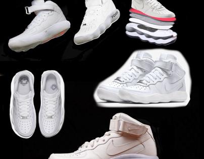 A Mash up between AF1 & Nike React Hyperdunk