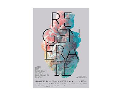 reSITE 2019 Regenerate – visual identity